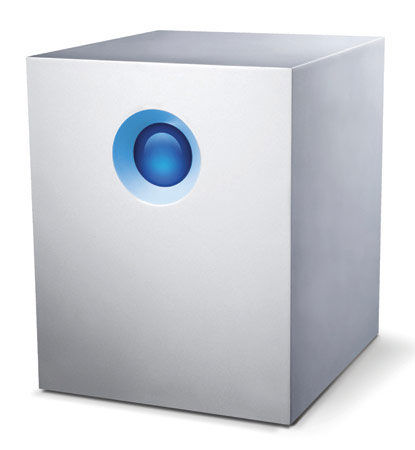 Персональная СХД Lacie ETH 10Tb 9000363EK 5big NAS Pro 3.5