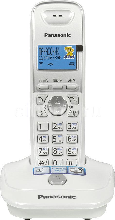 Радиотелефон PANASONIC KX-TG2511RUW,  белый