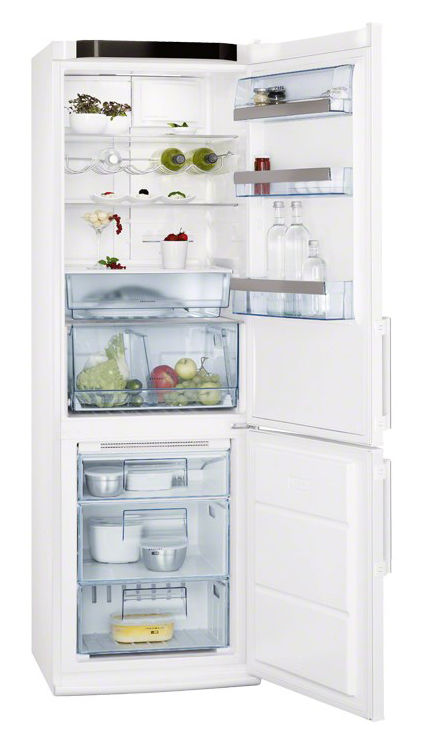 Холодильник AEG S83200CMW1,  двухкамерный,  белый