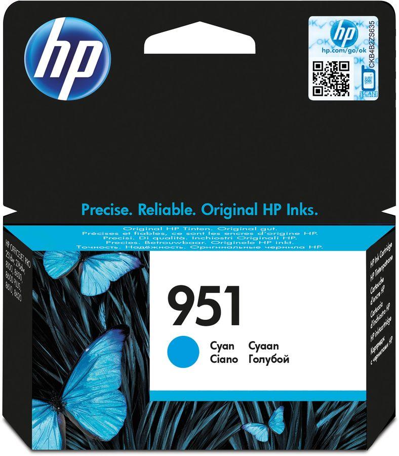 Картридж HP 951 голубой [cn050ae]