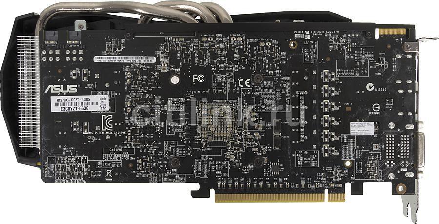 Видеокарта ASUS AMD Radeon R9 270X , R9270X-DC2T-4GD5