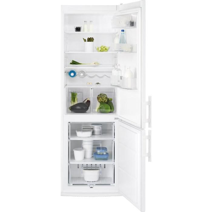 Холодильник ELECTROLUX EN3600AOW,  двухкамерный,  белый