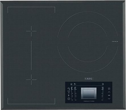 Варочная поверхность AEG HK569332FG,  индукционная,  независимая,  серый