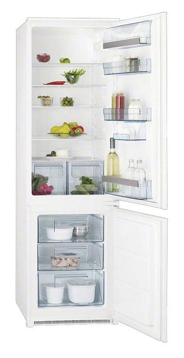 Встраиваемый холодильник AEG SCS951800S белый