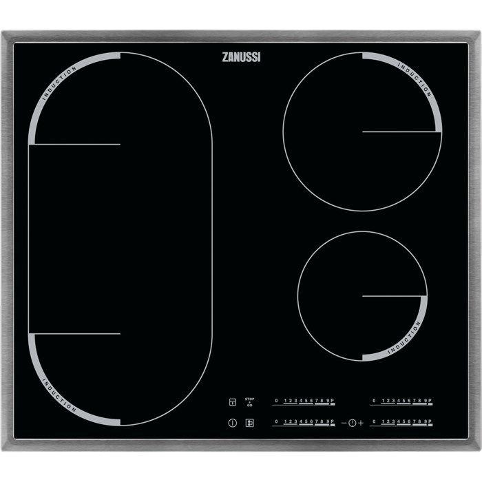 Варочная панель ZANUSSI ZEM56740XB,  индукционная,  независимая,  черный