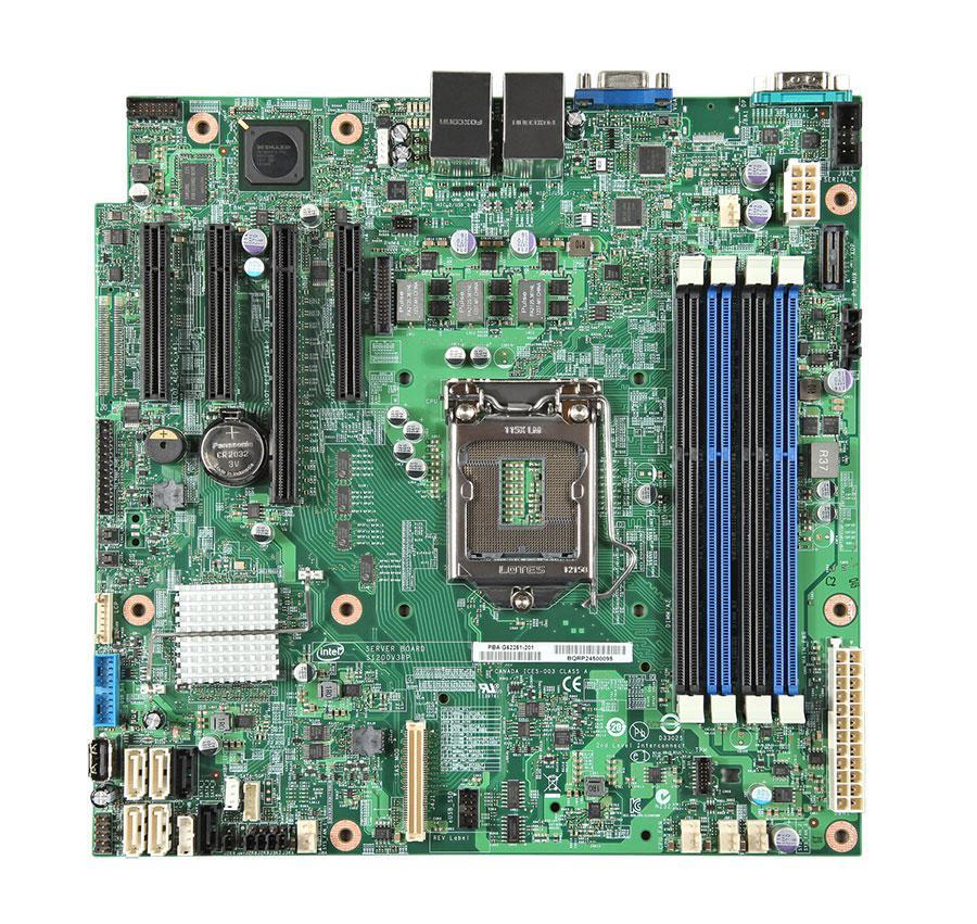 Серверная материнская плата INTEL BBS1200V3RPL,  bulk [bbs1200v3rpl 934311]