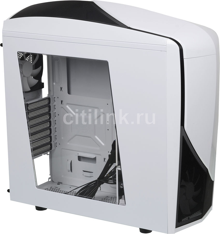 Корпус ATX NZXT Phantom 240, Midi-Tower, без БП,  белый