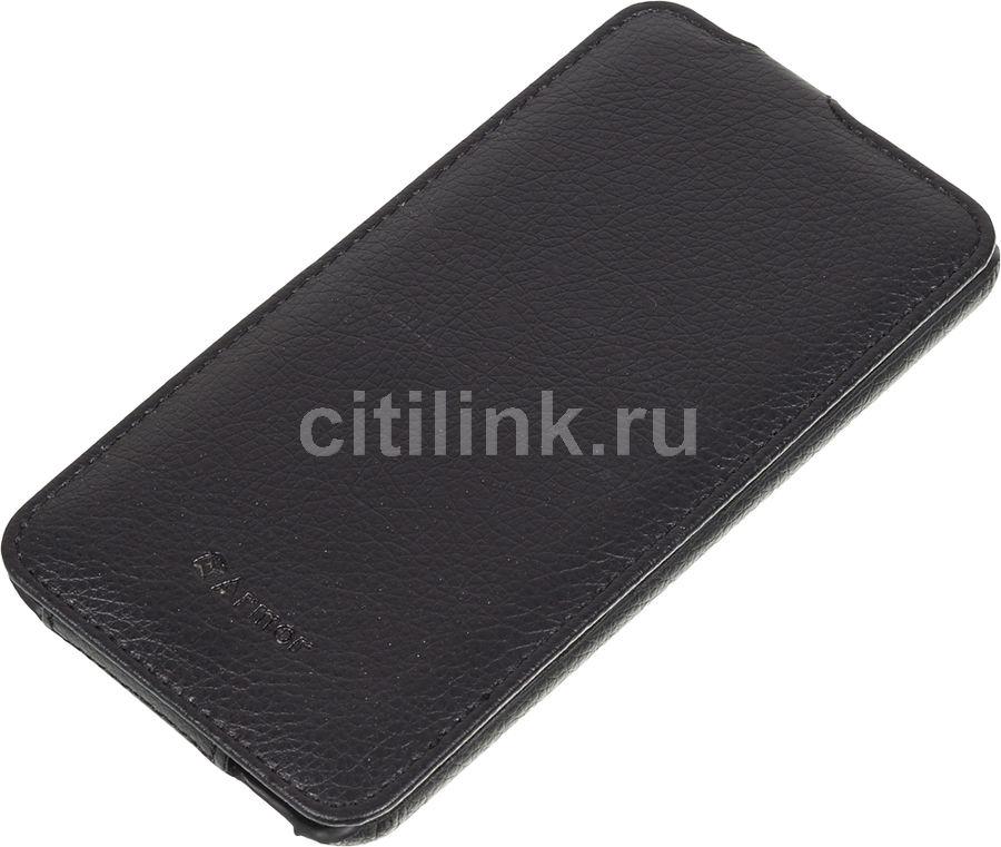 Чехол (флип-кейс) ARMOR-X flip full, для HTC Desire 816, черный