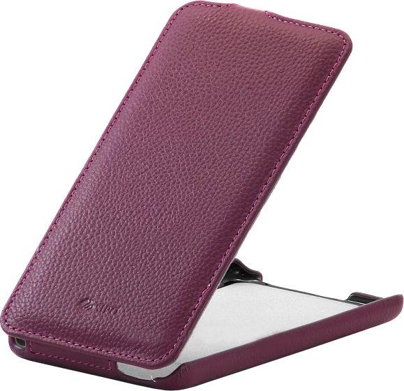 Чехол (флип-кейс) ARMOR-X flip full, для HTC Desire 816, пурпурный