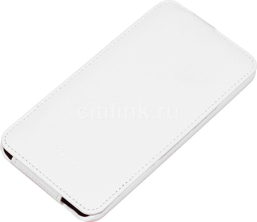 Чехол (флип-кейс) ARMOR-X flip full, для HTC Desire 816, белый