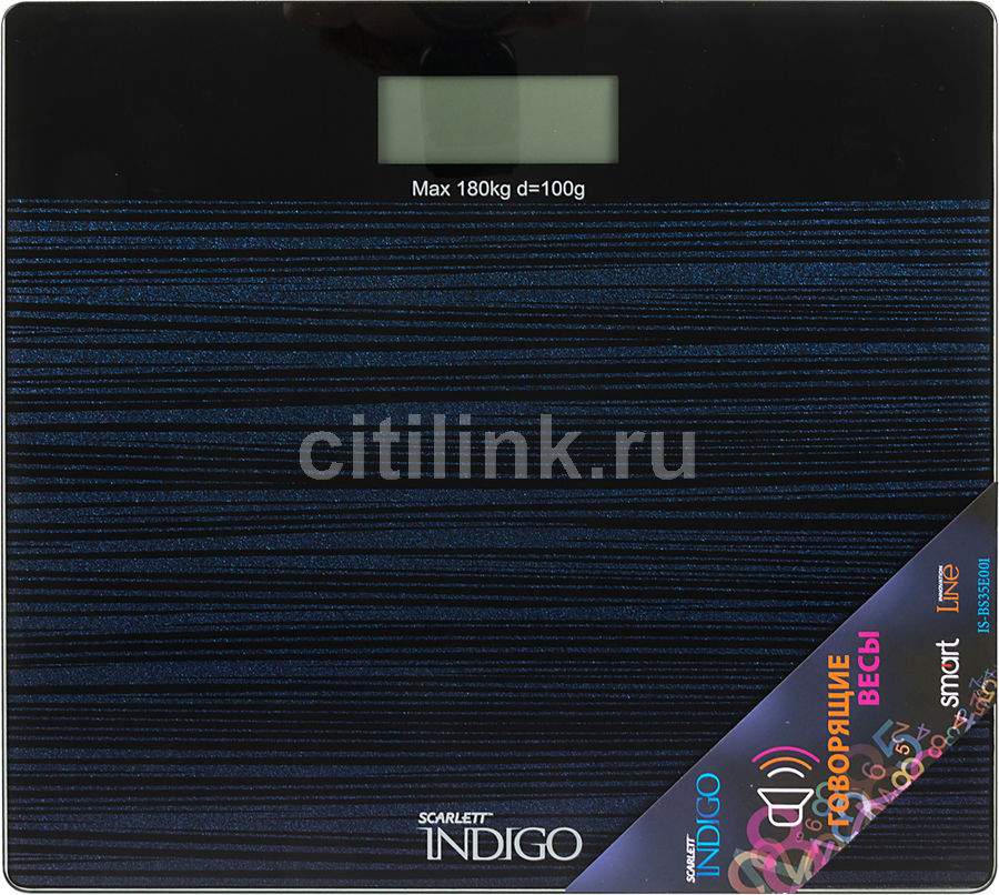 Весы SCARLETT IS-BS35E001, до 180кг, цвет: черный [is - bs35e001]