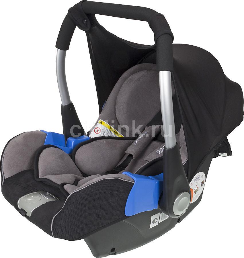 Автокресло детское SPARCO F 300 K, 0/0+, черный/серый [spc/dk-100 bk/gy]