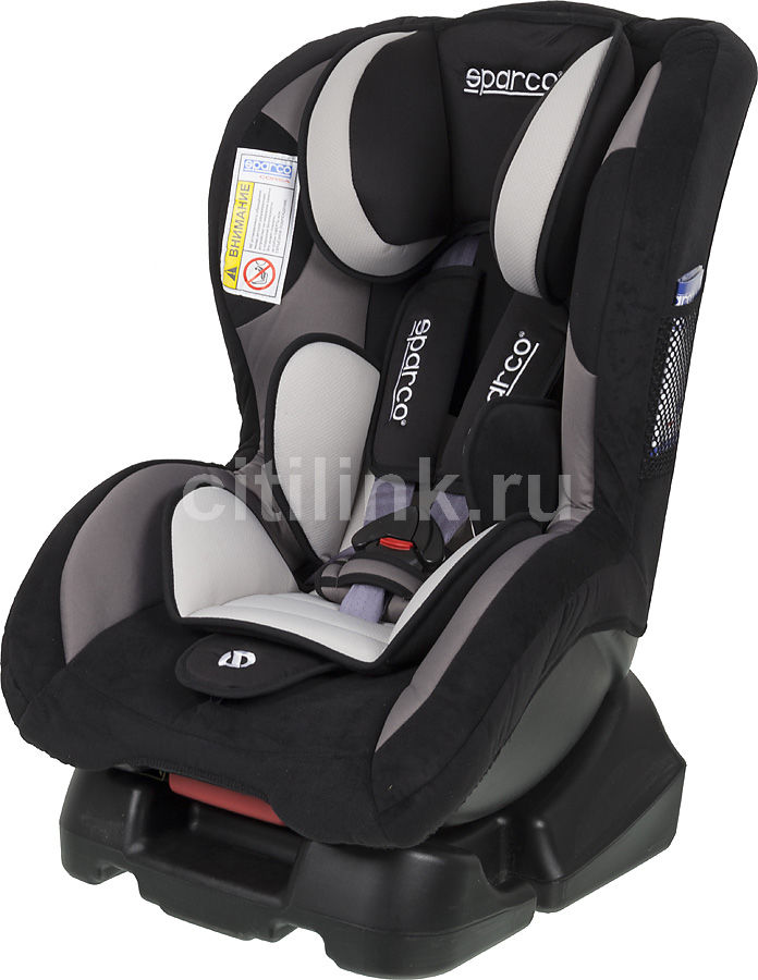 Автокресло детское SPARCO F 500 K, 0+/1, черный/серый [spc/dk-200 bk/gy]