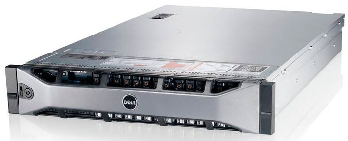 Сервер Dell PowerEdge R720 2xE5-2620 v2 4x8Gb 1RLV RD 8x4Tb 7.2K 3.5