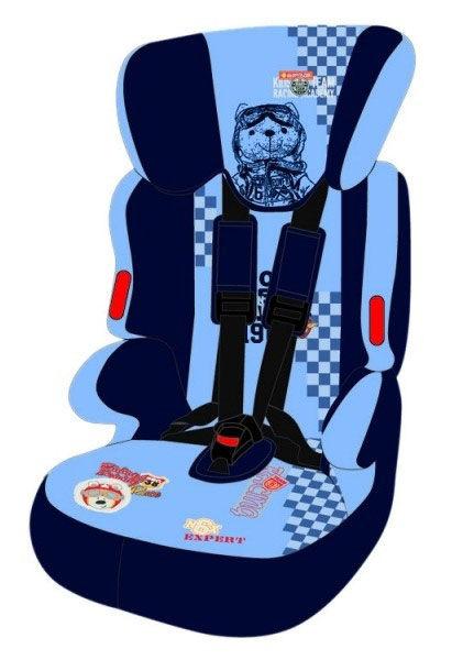 Автокресло детское NANIA Beline SP FST subli, 1/2/3, голубой/черный [295606]