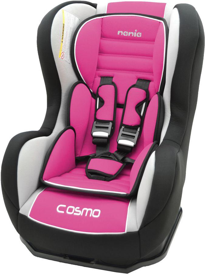 Автокресло детское NANIA Cosmo SP LX (agora framboise), 0+/1, розовый [083124]