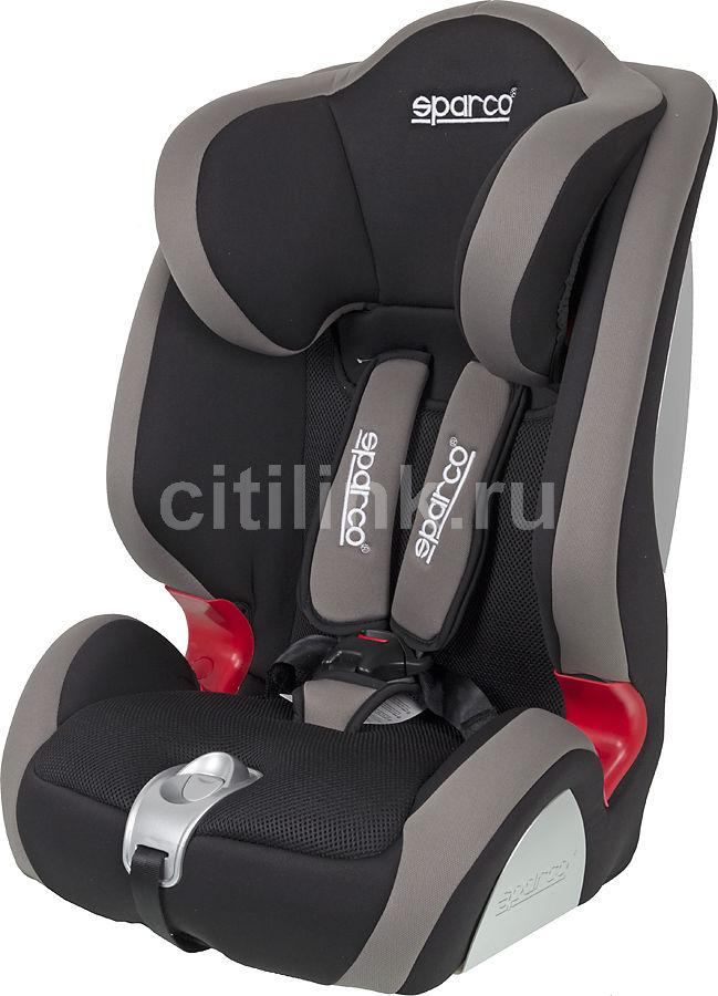 Автокресло детское SPARCO F 1000 K, 1/2/3, черный/серый [spc/dk-350 bk/gy]
