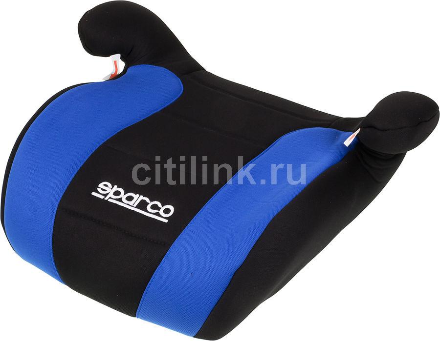 Бустер SPARCO F 100 K, 2/3, черный/синий [spc/dk-500 bk/bl]