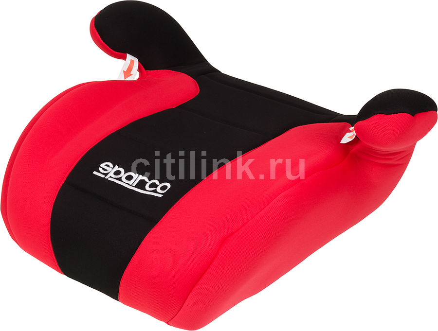 Бустер SPARCO F 100 K, 2/3, черный/красный [spc/dk-500 bk/rd]