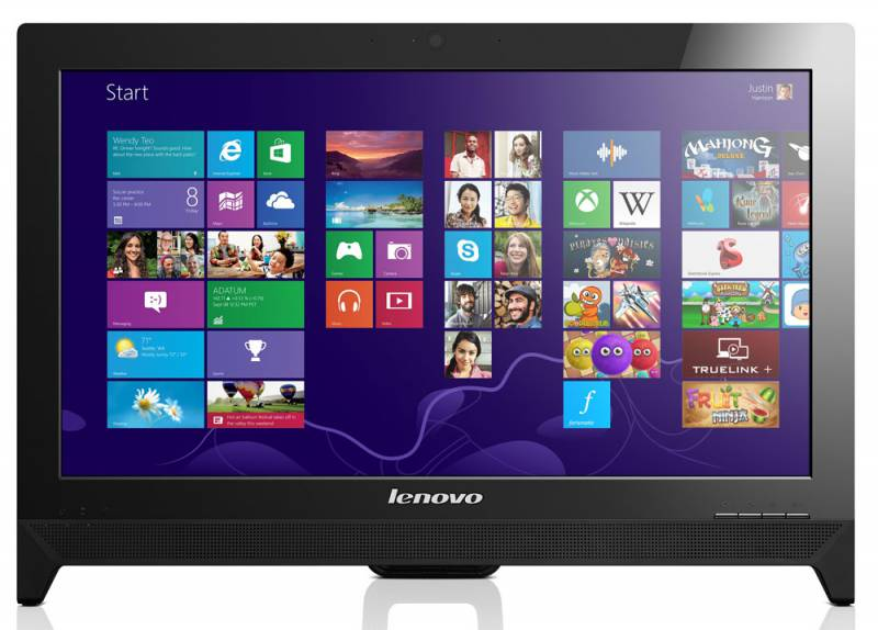 Моноблок LENOVO C260, Intel Celeron Quad Core J1900, 4Гб, 500Гб, DVD-RW, Windows 8.1 [57328072]