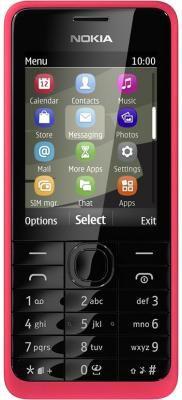 Мобильный телефон NOKIA 301 Dual Sim красный