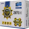 Материнская плата MSI Z87I AC LGA 1150, mATX, Ret вид 7