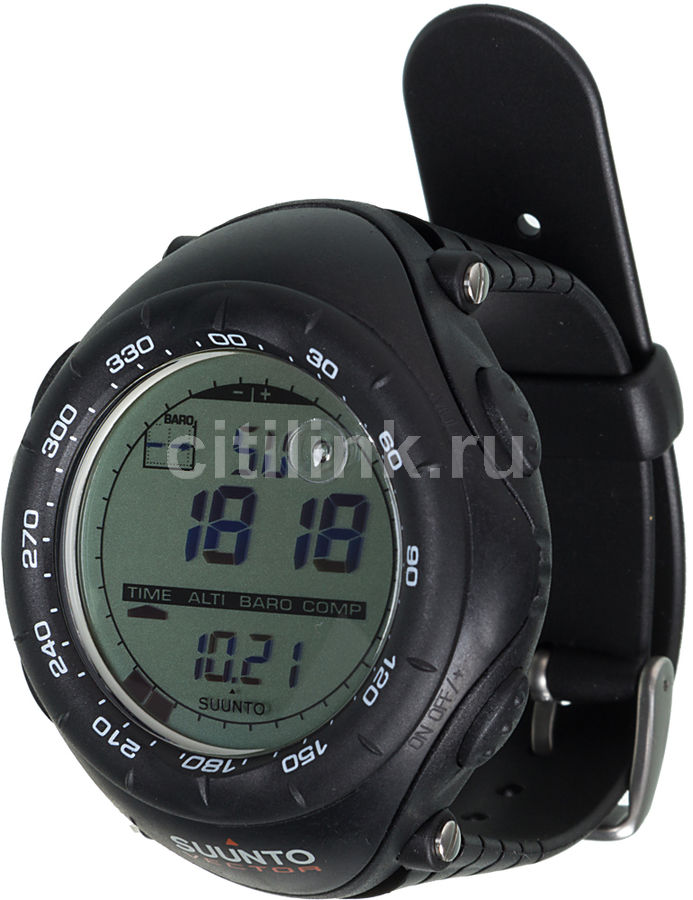Часы-пульсометр Suunto Vector черный [ss010600110]