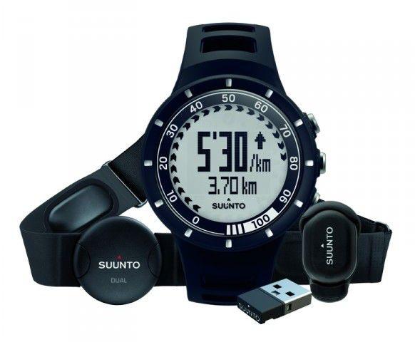 Спортивные часы Suunto QUEST черный RUNNING PACK [ss018156000]