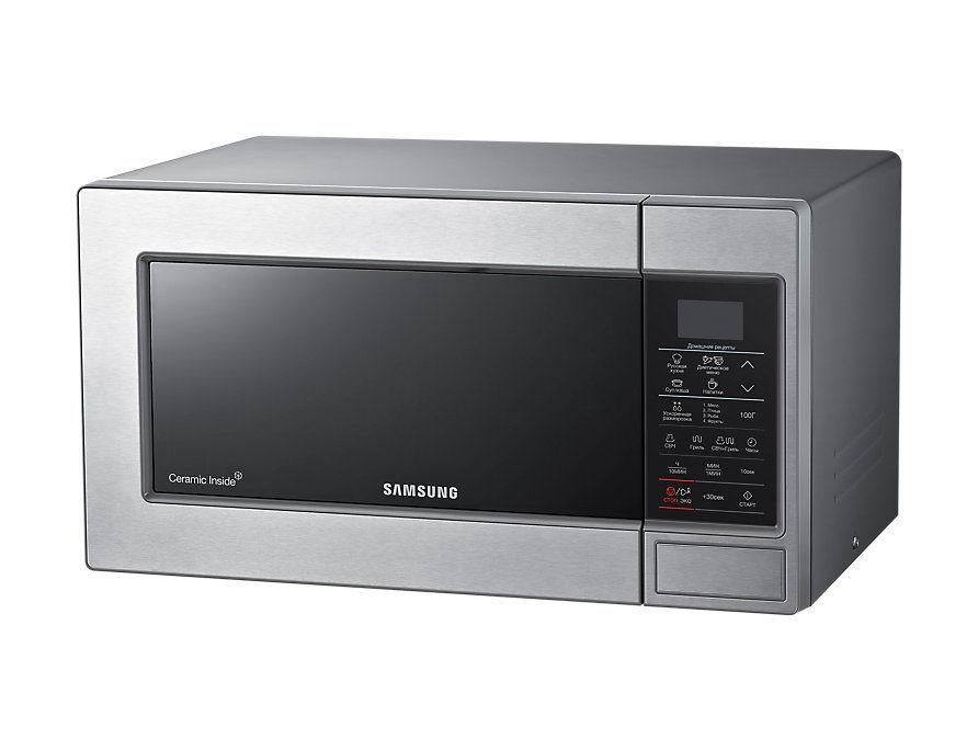 Микроволновая Печь Samsung GE83MRTS 23л. 800Вт серебристый