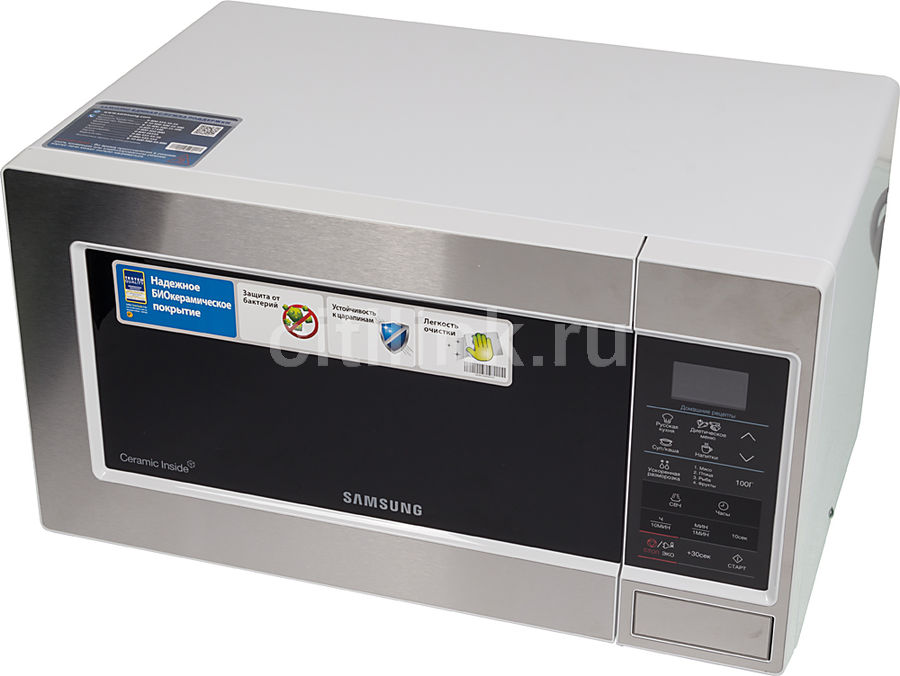 Микроволновая печь SAMSUNG ME83MRTW, белый