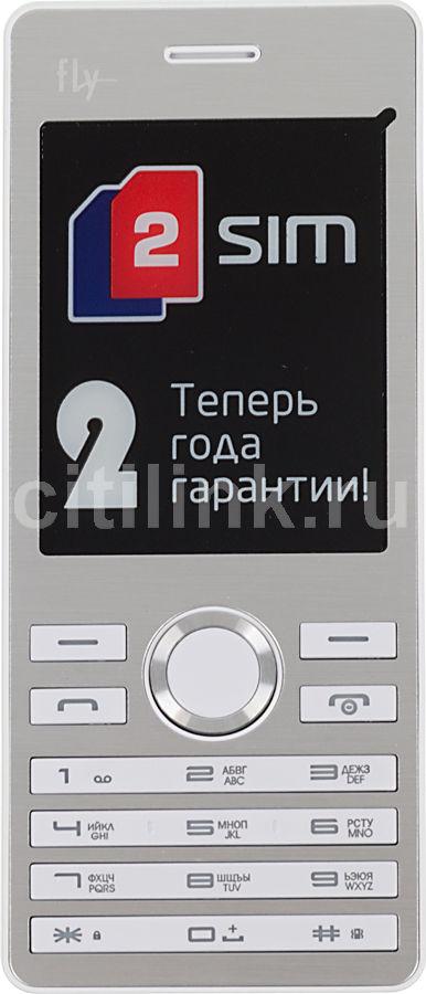 Мобильный телефон FLY DS131  белый