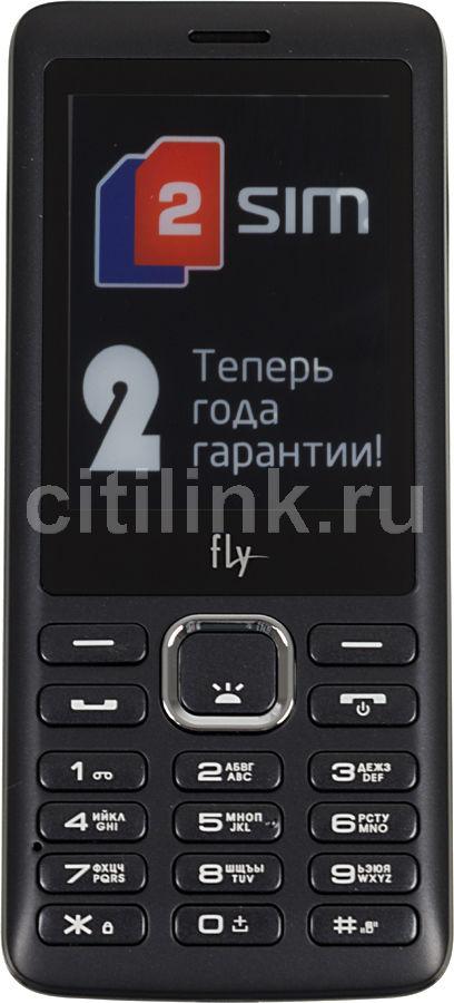 Мобильный телефон FLY DS132  темно-серый