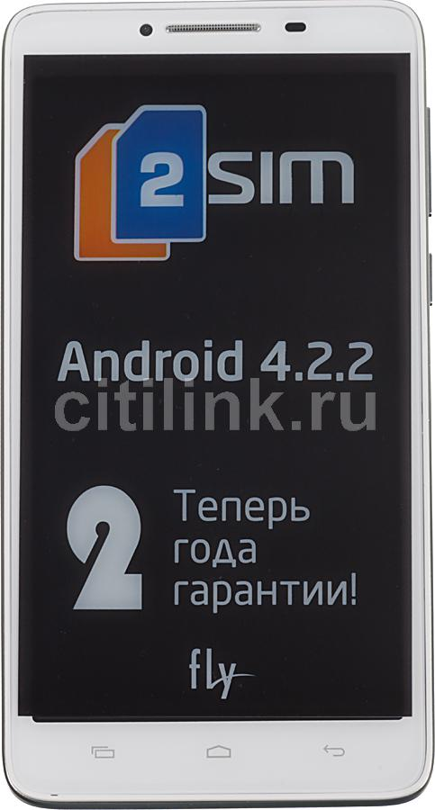 Смартфон FLY Era Style 2 IQ4601  белый