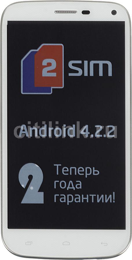 Смартфон FLY Evo Tech 2 IQ458  серебристый/белый