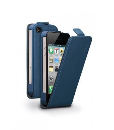 Чехол (флип-кейс) DEPPA 81018, для Apple iPhone 4/4S, синий
