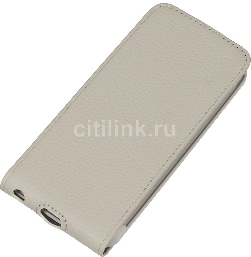 Чехол (флип-кейс) DEPPA Flip Cover, 81004, для Apple iPhone 5/5S, белый