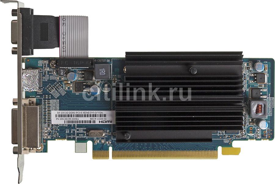 Видеокарта SAPPHIRE AMD  Radeon R5 230 ,  11233-02-10G,  2Гб, DDR3, oem