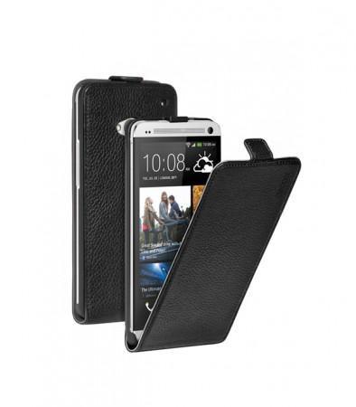 Чехол (флип-кейс) DEPPA 81015, для HTC One, черный