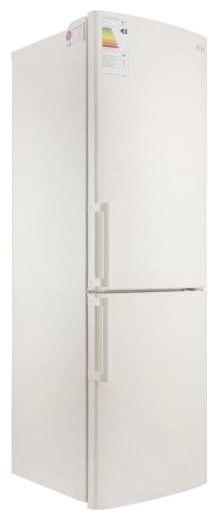 Холодильник LG GA-B439YECZ,  двухкамерный,  бежевый