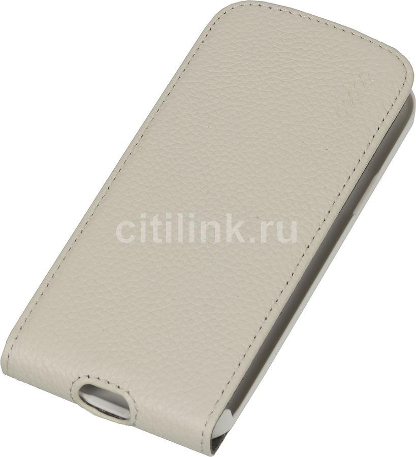 Чехол (флип-кейс) DEPPA Flip Cover, 81023, для Samsung Galaxy S4 mini, белый