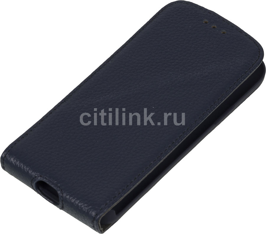 Чехол (флип-кейс) DEPPA Flip Cover, 81024, для Samsung Galaxy S4 mini, синий
