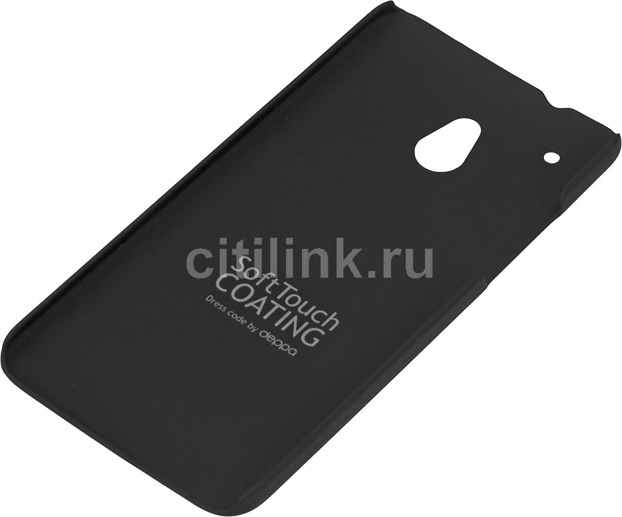 Чехол (клип-кейс) DEPPA Air Case, 83044, для HTC One mini, черный