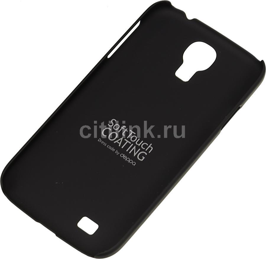 Чехол (клип-кейс) DEPPA Air Case, 83027, для Samsung Galaxy S4, черный