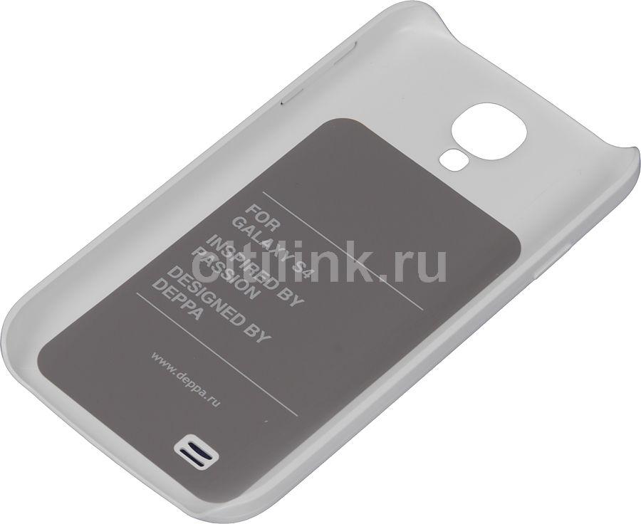 Чехол (клип-кейс) DEPPA Air Case, 83001, для Samsung Galaxy S4, белый