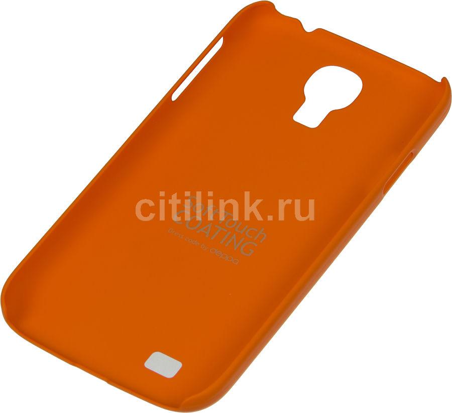 Чехол (клип-кейс) DEPPA Air Case, 83035, для Samsung Galaxy S4, оранжевый