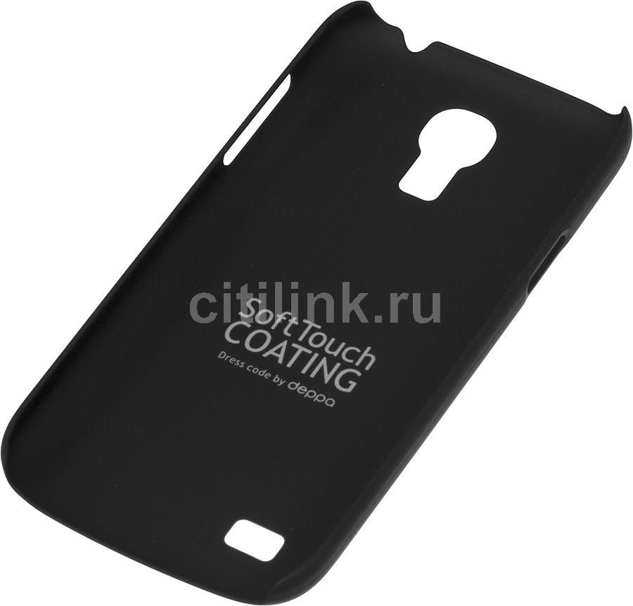 Чехол (клип-кейс) DEPPA Air Case, 83031, для Samsung Galaxy S4 mini, черный