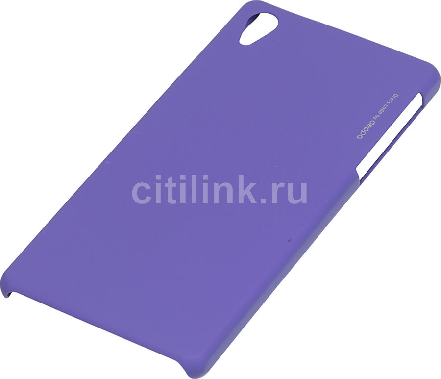 Чехол (клип-кейс) DEPPA Air Case, для Sony Xperia Z2, фиолетовый [83062]