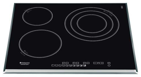 Варочная поверхность HOTPOINT-ARISTON KIO 633 T Z,  индукционная,  независимая,  черный