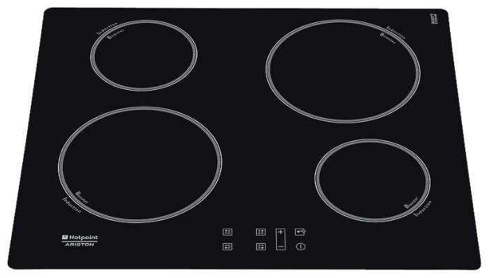 Варочная поверхность HOTPOINT-ARISTON KIB 644 C E,  индукционная,  независимая,  черный