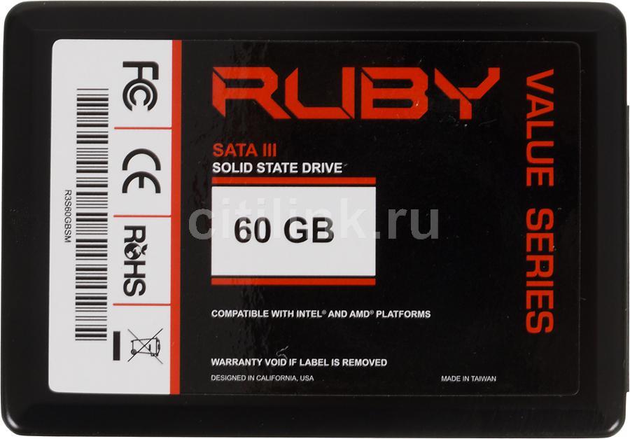 Накопитель SSD AMD Value R3S60GBSM 60Гб, 2.5